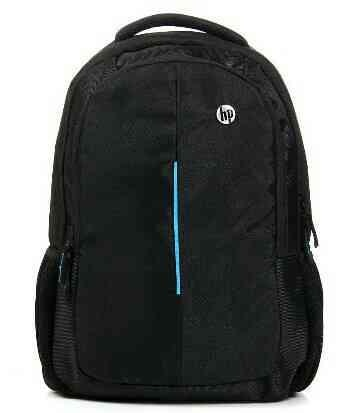 Black HP Laptop Backpack in Mumbai