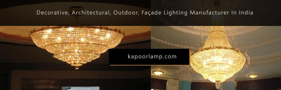 As a one-stop lighting solutions company, today we deal in all types of lighting including decorative lighting, façade lighting, architectural lighting, outdoor & landscape lighting, as well as, commercial lighting....for more information v - by Decorative, Architectural, Outdoor, Façade Lighting Manufacturer in India. Since 1948., Delhi