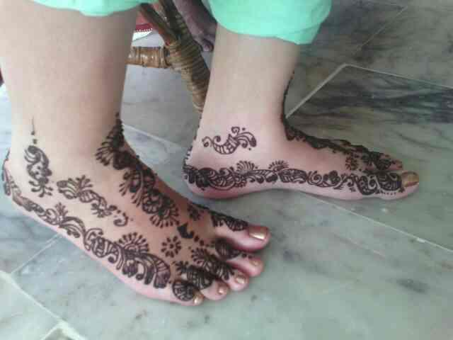 we are doing mehandhi for Bridal  - by V For U, Coimbatore