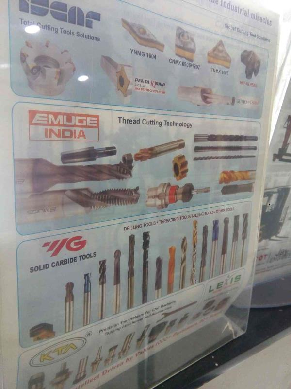 We are prominent Supplier of superior Quality CNC Cutting Tools in Rajkot