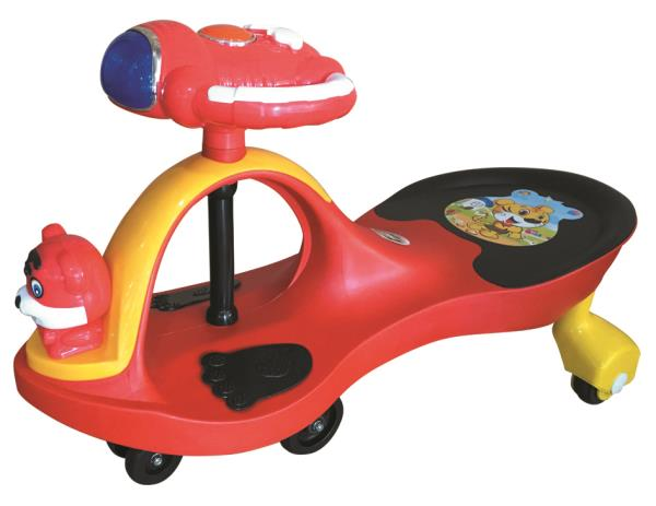 Peachbag proudly presents EZ' PLAYMATES MAGIC CAR AERO PREMIUM - RED. Best features of this kids manual ride-on swing car are : -AGE -3 TO 4 YEARS -BATTERY OPERATED-NO -MELODIOUS MUSICAL HORN -LED LIGHTS ON THE STEERING WHEEL  To Buy Online - by PEACHBAG, Chennai