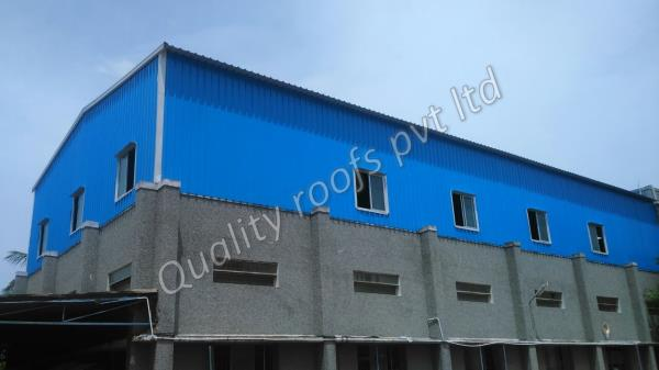 Warehouse Shed Contractors Chennai                       We are the leading Warehouse Shed Contractors Chennai. With rich industry experience in manufacturing and supplying industrial products, we offer a wide range of Warehouse Sheds. Offered products are manufactured using the finest quality raw material and are in total compliance with set industry norms.   Warehouses Shed offered comprise light weight structure finish and can be made available in different lengths and width choices as per the specifications provided by the customers. Some of its features include use of corrugated/color steel sandwich panel, provide for light weight finish, low cost building alternative, short building cycle, beautiful smooth appearance, suitable for use as workshop, storage, office block and others.