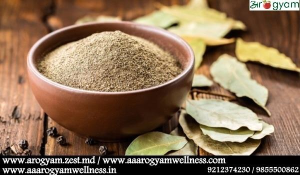 SPICE UP YOUR FOOD PLATE WITH TEJ PATTA   Bay leaves - very commonly used spice in Indian dishes.  Fresh or dried bay leaves are used in cooking for their distinctive flavor and fragrance. The uses of bay leaves including grinding the leave - by Arogyam Health and Wellness Clinic, Delhi