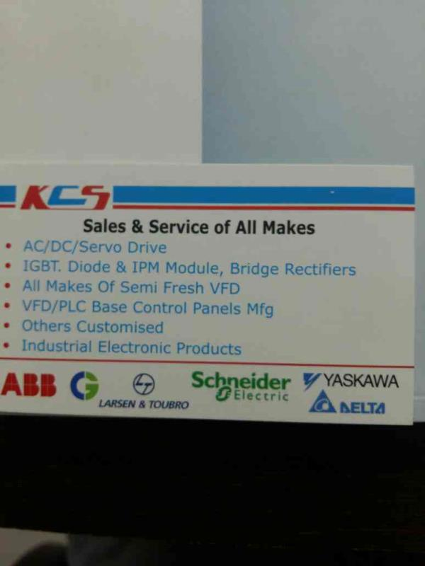 We provide best in class AC Drive to our customers.  We do not just provide you a Product  We offer you Quality!!  Email us - khushicontrolsystem@gmail.com  Please find attached card for our sales and service info::  Good day