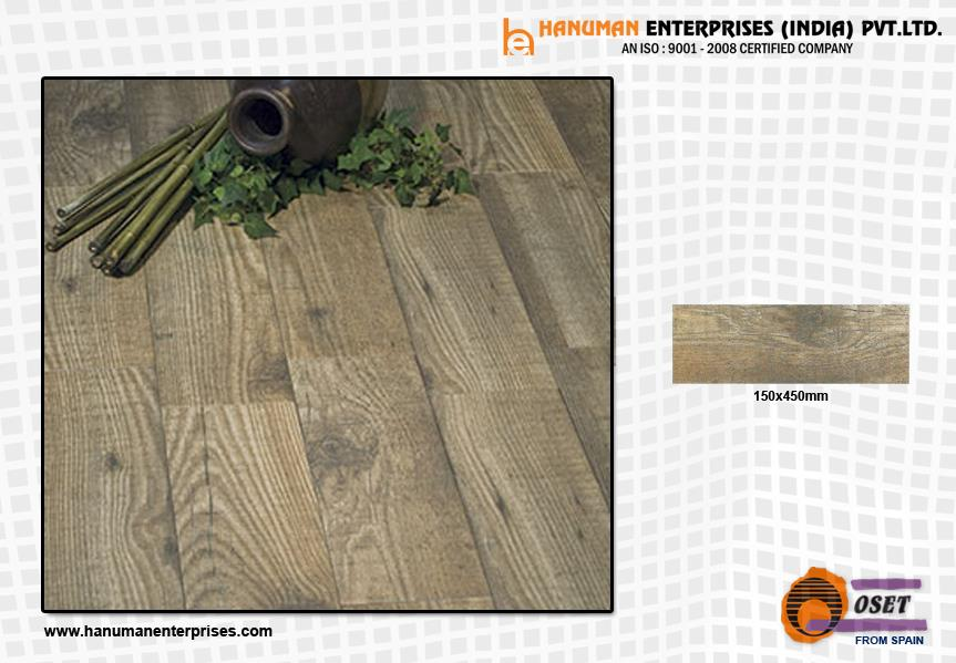 Our wood effect porcelain tiles are designed to closely replicate the appearance of natural wood. For more info visit at www.hanumanenterprises.com  - by Hanuman Enterprises India Pvt. Ltd., Hyderabad