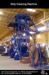 We have been engaged in manufacturing Strip Cleaning Shot Blasting Machine which is used for descaling of carbon steel and stainless steel strips ranging from 350 to 1800 mm width.  Shot blasting speed : 2 meter to 15 meter/ min or moreEliminates pickling, surface is completely free of scaleMachine can be installed in continuous process inline or offlineSimple operation requiring minimum labourMore than 10 installations are in operationSaves Pickling cost and reduces acid disposal problem.  Strip Cleaning Machine in vadodara Gujarat  Strip Cleaning Machine in surat Gujarat  Strip Cleaning Machine in pune maharastra   Strip Cleaning Machine in mumbai india