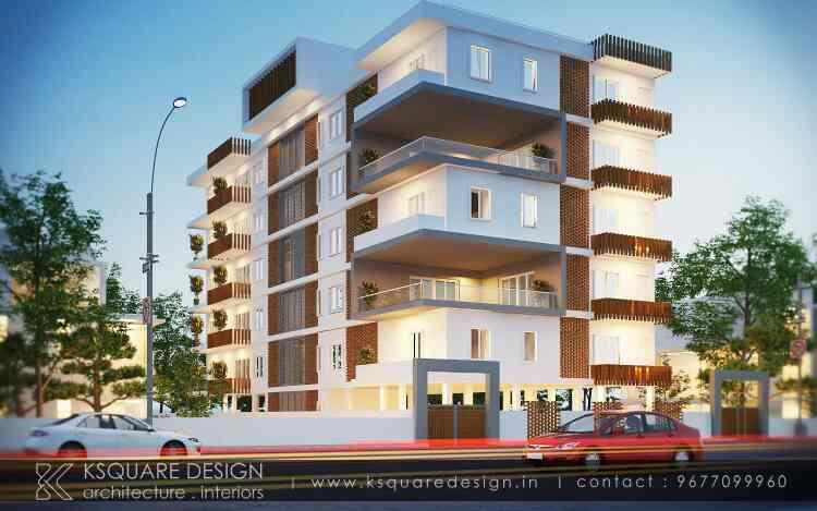 TOP 10  ARCHITECTS IN CHENNAI We are one of the Best Architects in Adyar.This image shows one of our cost effective yet innovative design and space planning for a Apartment Design in T.nagar. - by K Square Interiors 9677099960, Chennai