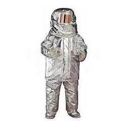 Owing to our expertise, we are providing an assortment of Fire Proximity Suit. Help you from high flame of fire, this proximity suit is designed as per the latest advancements under the observation of trained professionals. We provide this proximity suit in various designs and can be availed in diverse specifications. In order to dispatch flawless range, this proximity suit is checked on numerous predefined quality parameters. Customers can take this proximity suit from us at reasonable rates.