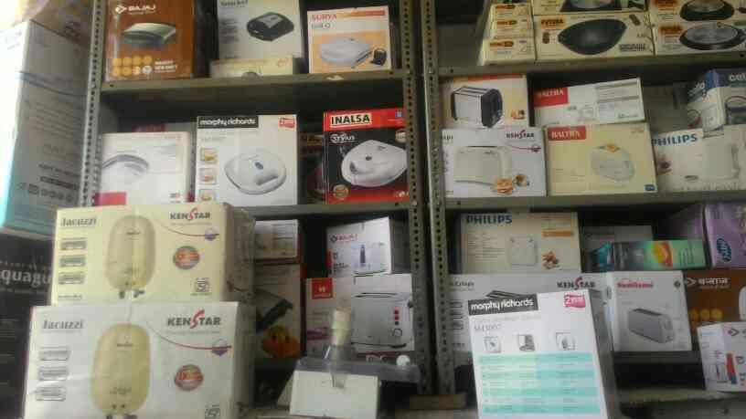 We are retailers of home appliances in Jaipur