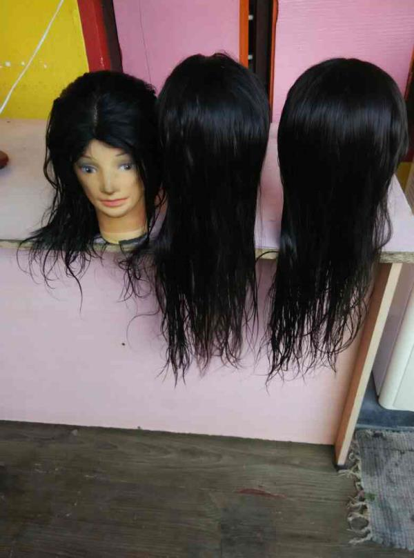 German lace wigs indian temple human hair ladies Wigs available for thyroid and other medical related patients. - by ADAM HAIR INDIA, Chennai