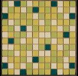 Glass Mosaic Tiles  Made of basic glass material in natural and colourful range. Ideal for interior and exterior cladding decoration. Shon Glass Mosaics are available in different sizes, shapes, thickness and patterns. Shon mosaics are supplied back mounted on paper in form of sheets.   Available shapes:   SQUARES in 18 x 18 mm, 1 x 1 inch, 1.5 x 1.5 inch, 2 x 2 inch RECTANGLES in 38 x 18mm, 2 x 1 inch  Available Patterns:  RANDOM DEFINITE ARRANGEMENTS FIXED PATTERNS depending upon shapes MURALS CUSTOMIZED patterns  Shon Ceramics are a leading manufacturer of Glass Mosaic Tiles in Vadodara, Gujarat.  We are a leading supplier of Glass Mosaic Tiles in Gujarat.