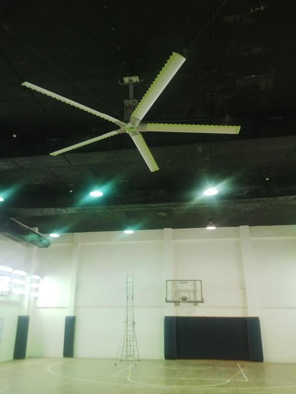 High Volume Fan for Air Conditioned area.  Up to 80% power saving#Improved work Environment#Payback in 1 Year. Services available in Vadodara, Ahmedabad, Surat, Bharuch, Vapi, Mehsana, Gandhidham, Gandhinagar, Bhuj, Rajkot, Morbi, Palanpur, - by MGCranes, Ahmedabad