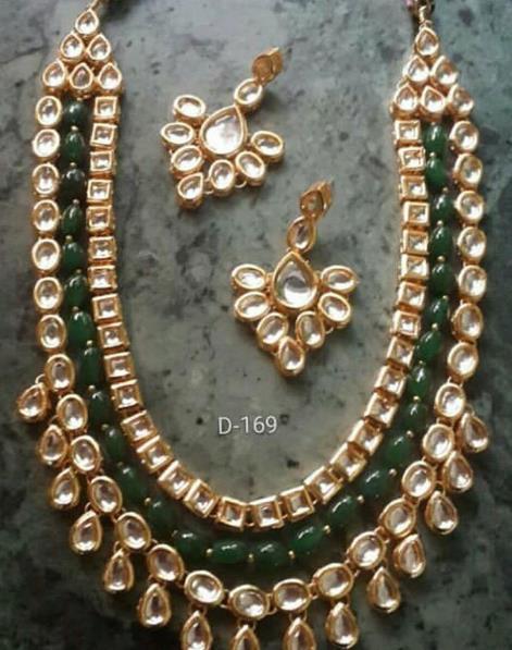 kundan jewellery in kamla nagar - by Suvidya Jewellers @9899729191, New Delhi