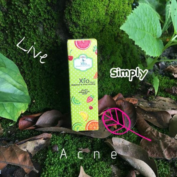 XFO SERUM For all types of acne. Use only 2 days a week.  สิวทุกระยะใช้ได้หมดทำจากกรดผลไม้ใช้เพียงสองวันต่ออาทิตย์ Glycolic 10%