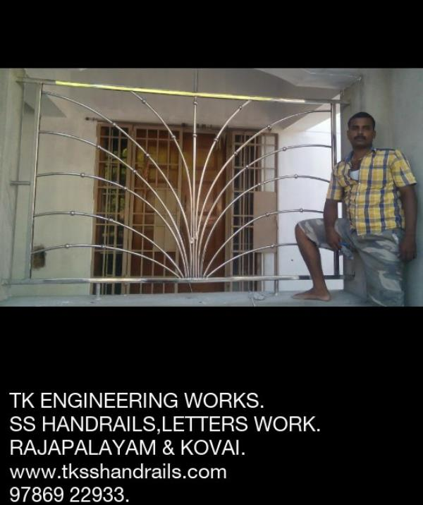"TK ENGINEERING WORKS """"""""""""""""""""""""""""""""""""""""""""""""""""""""  SS Work in Rajapalayam.  SS Work in Sivakasi.  SS Work in Srivilliputhur.  SS Work in Theni.  SS Work in Kumbam.  SS Work in Sankarankovil.  SS  Work in Madurai.  SS  Work in Kovai.  SS Wor - by Handrails Work, Rajapalayam"