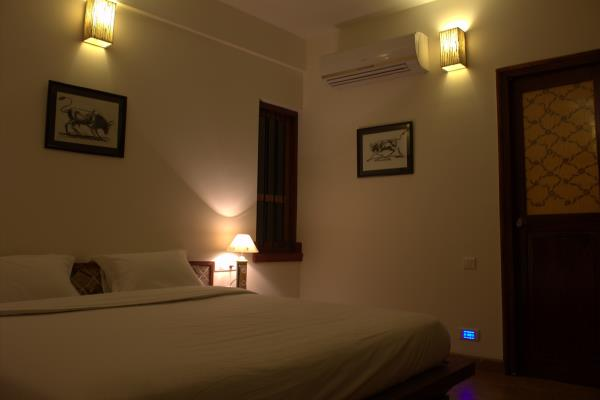 serviced apartment in btm, Nisargha with its detailed design is flooded by natural light during the day. Large windows, sprawling patios and air channels increase the reach of natural light and optimises ventilation. And when the sun sets,
