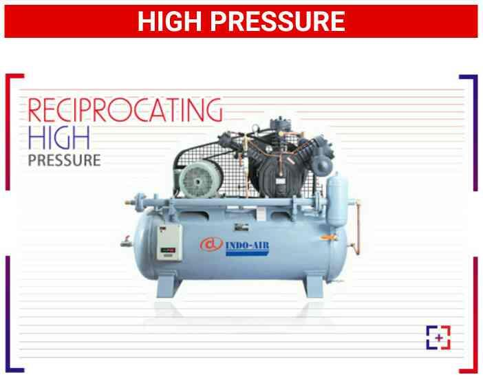 Reciprocating High Pressure Air Compressor - INDO AIR COMPRESSOR, Kathwada is one one of the leading and Best manufacturer and Exporter of Reciprocating High Pressure Air Compressor in India.  *Our Quality is our Committment*