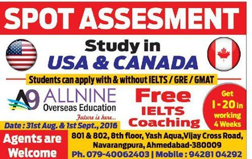 We Allnine Overseas provide best overses coaching in ahmedabad    for more info http://allnineoverseaseducation.com/
