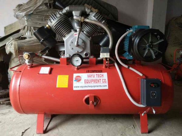 Single Stage Air Compressor High Quality High Performance at Low Price - by Vayu Tech Equipment Co., New Delhi