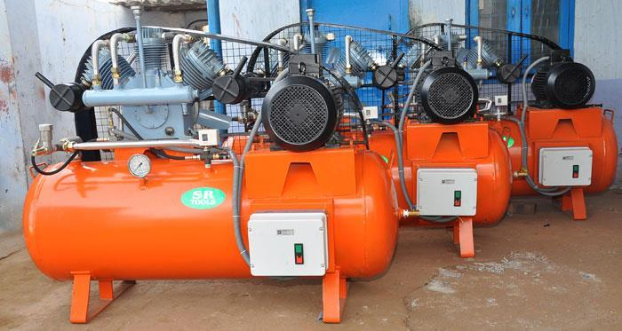 We introduce our self as a manufacturer and Supplier of Air Compressors in warangal.These Air Compressors are available in 5HP to 20HP .Our Product is suitable for all Pet Blowing Machines & Other purpose.  Manufacturer and Supplier of Air  - by SR Tools, Hyderabad