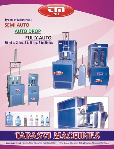 Manufacturers for pet blowing machines in Karimnagar  We are the leading manufacturers for pet blowing machines in various types like semi auto, auto drop & fully auto etc in Karimnagar. Our machines will support to blow the bottles from 50 - by SR Tools, Hyderabad