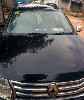 RENAULT DUSTER RXZ:MODEL 06/2012, KM 72425, COLOUR BLACK, FUEL DIESEL, PRICE 750000 NEG.USED VEHICLE FOR SALE COMPLEAT SHOWROOM TRACK.