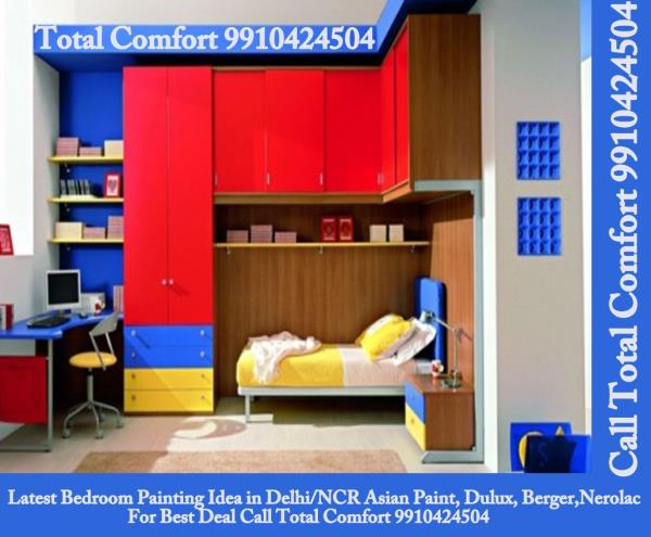 Wall painting solutions in Delhi, Best Home/House Painting Services and Support from Total Comfort Delhi Painting Contractors in Delhi Vasant Kunj Saket Delhi NCR Gurgaon Express painting  Fast painting service  Wall painting solutions  Fas - by Total Comfort, New Delhi