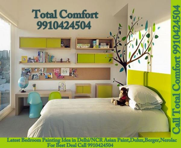Wall painting solutions in Delhi, Best Home/House Painting Services and Support from Total Comfort Delhi Painting Contractors in Delhi Vasant Kunj Saket Delhi NCR Gurgaon Express painting  Fast painting service  Wall painting solutions  Fast painting tools  Faster painting services  Hassle free painting  Cleaner painting  Better painting  Asian Paint Dulux Berger Nerolec Certified and Trained Painters Best Contractor Applicator in Khanpur Call Total Comfort at 9910424504 9958544267