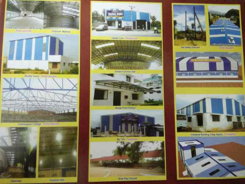 Best roofing contractor in Erode - by M.M.Roofing Structures, Rajapalayam