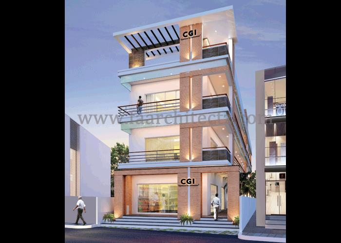 Commercial Building Architects in Alwarpet, Commercial Building Architects in Chennai, Commercial Building Architects in Tamilnadu, Commercial Building Architects in India. We don't just create spaces to live-in but to live along.We Inspire - by FOURTH AXIS ARCHITECTS, Chennai
