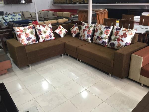 Sofa set manufacturers in Ahmedabad  Lots of colours and design choices available. Also customised as your requirements. Make any design sofas very affordable rates. Call 09725633161 - by Akshar Furniture, Ahmedabad