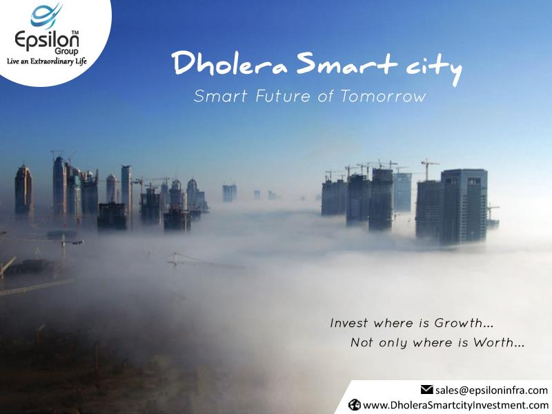 Dholera Smart city Smart Future of Towmorrow Invest where is Growth NOt only Where is Worth #Dholera #DholeraSIR #Dhoeraepsiloninfra #Gujarat #smartcityinindia #investmentregioningujarat #investmentingujarat #smartinvestment #epsoloinftra - by Dholera Smart City Residential Plots, Ahmedabad