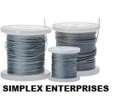 WIRE ROPE  We offer a wide range of Steel Wire Rope that are manufactured by using high grade alloy steel chain and high technologies. We are located in Hyderabad Ranigunj. - by Simplex Enterprises, Hyderabad