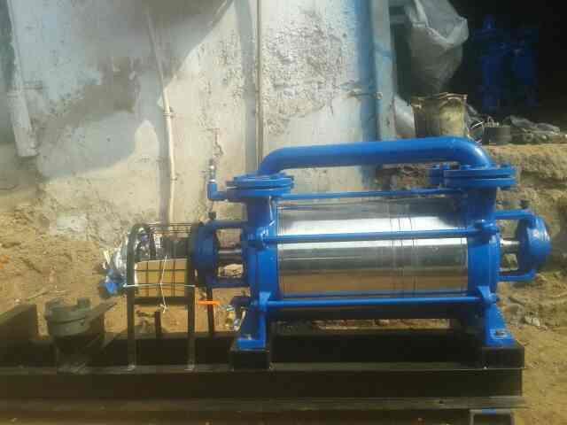 water ring vacuum pump manufacturer in Ahemdabad Gujarat India vacuum pump manufacturer in Ahemdabad  - by Shreeji Engineering, Ahmedabad