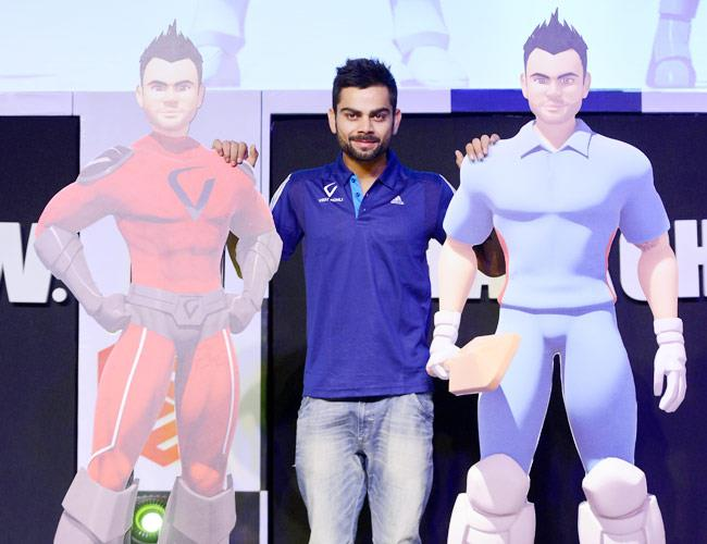 Virat Kohli is the 1st cricketer who has launched his super hero character. Beside India animation characters hugely popular India's Captain Virat Kohli who came up to second place in the ICC ODI rankings following his impressive batting sh - by MAAC  KAROL BAGH @ 9599051501, Central Delhi