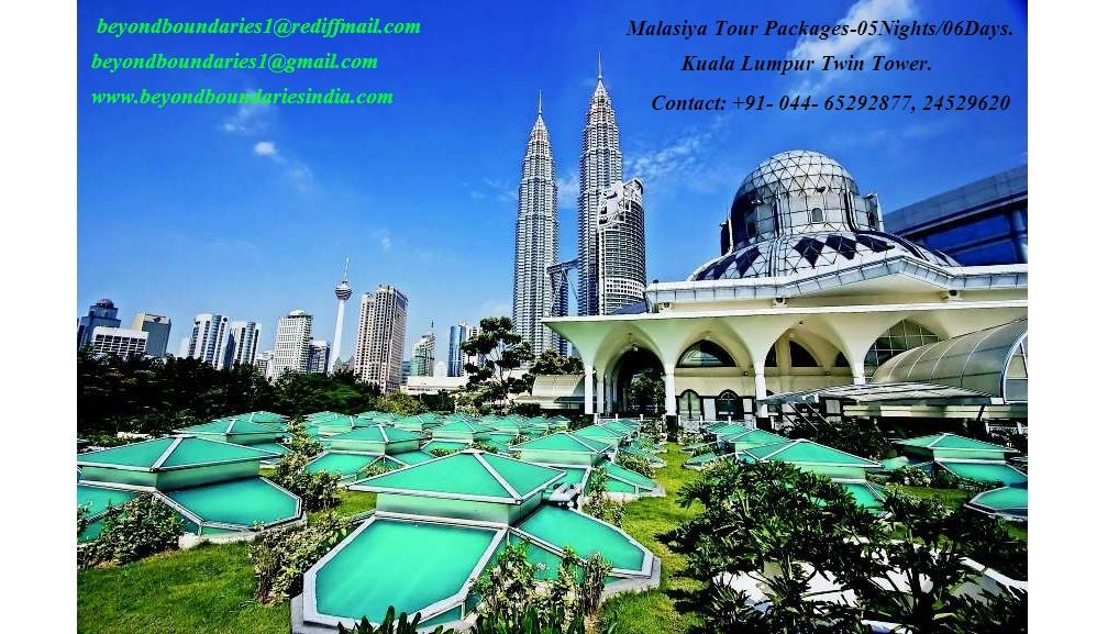 MALASIYA  TOUR  PACKAGES 05 NIGHTS/06DAYS. FOR TOUR PROGRAM AND COST CONTACT BEYOND BOUNDARIES. - by Beyond Boundaries, Chennai