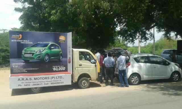 Marketting road show Madurai