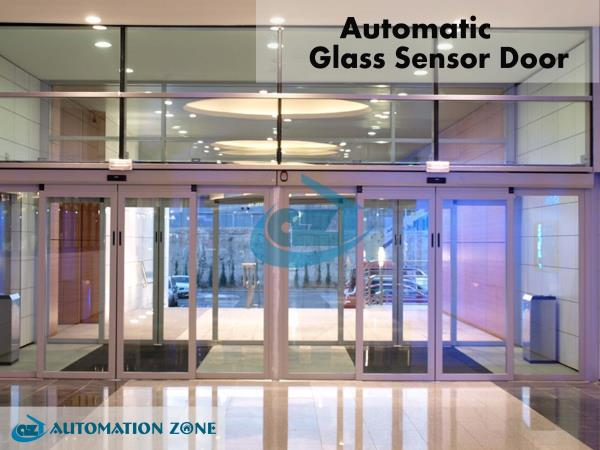 GLASS SENSOR SLIDING DOOR  The automatic door systems from us open up an almost unlimited range of door design options. Daily, millions of people enjoy their natural convenience. The most modern of innovative drives in which high performance capability, security, convenience and design are a priority and go towards ensuring that the automatic door solutions from automation zone are both the focus and the eye catcher of every entrance area.  Glass sensor sliding doors have multiple benefits and can also make a great first impression. Automatic doors can make it easier for your clients to enter and leave your premises, and in busy areas, can improve the flow of traffic in and out of your building.  	We pride ourselves in being able to provide very competitive prices for electric door glass and will only use quality materials to ensure our products are of the best quality, to provide years of trouble free operation.  We offer a free, no obligation, site survey in which we will explore your requirements and will offer professional guidance and support to ensure you get the automatic door that is right for you and your budget.  Door automation applied in various areas such as   Retail Outlets Hospitals Restaurants Hotels Individual houses Industries Office Buildings Sales Outlets etc...  AUTOMATIC SLIDING DOOR  Automatic Glass door sliding type has high functional features of its own and if these doors come with improved customization, their features gain additional value. One of the prominent sliding doors is glass sliding doors. Has two types (a) Single-Leaf (Maximum with of shutter for single leaf is 1500 mm) and (b) Maximum with of shutter for Double leaf is 2900 mm  FOLDING DOOR OPERATORS  The folding door is ideal when space is tight but quick and easy access is necessary. This model is easily integrated into most entrances, and can be fitted both in front of an opening as well as between two side walls. The perfect solution to keep the cost of building modifications as low as possible.  This type so ideal for narrow passageways in restaurants, hotels, business headquarters, hospitals etc...  SWING DOOR OPERATORS  Swing door operators, force are applied to the door leaf by means of a swinging arm, thus enabling it to open and close. Automating doors with two leaves enables them to have the largest possible clear opening width. Suitable for many public areas but chiefly for applications inside buildings as follows: To provide helpful solutions for the disabled in blocks of flats, hospitals and homes for the elderly, administration and office buildings, restaurants.  TELESCOPIC SLIDING DOORS  The elegant automatic sliding door makes any entrance special, and enables particularly large opening widths. Available as single or two-leaf models, with either two or four sliding door leaves. Complete installation available in lightweight record profiles, or in heavy-duty insulated glass. The ideal choice as to hotels, restaurants, hospitals, retail outlets such as jewelry and watch shops, fashion stores and optical.  ANGULAR SLIDING DOORS  In angular sliding door, the middle of the door operator is fitted with a guide that changes the direction of the drive belts, ensuring virtually noise-free operation. Doors can be fixed at any angle greater than or equal to 90 degree. Viewed from the outside of the building the doors can be angled inwards or outwards. Ideally used in entrances of shopping centres, show room etc.  BREAKOUT DOORS  The breakout sliding door looks like a standard sliding door with a fine-frame profile system. In the event of an emergency, however, users can open the door panels and sidelights toward the outside by hand (breakout function). The escape route width amounts to almost the full door width for a generous through passage.  CURVED SLIDING DOORS  The curved automatic sliding door for special entrances. Enhances the elegance and style of any building. They doors can be curved semi-circular or full circular. Suitable for all buildings used by the public where elegant looks are a top priority; can be fitted to both the inside or outside. Delivers made-to-measure, modern solutions; easily integrated into old and new buildings.  REVOLVING DOORS  Revolving doors form us are technically well engineered, silent and offer the perfect solution for your entrance. Two, three of four leaf revolving doors with or without a show case, night shutters and constructions with diameters. All doors can be used as emergency escape routes, and work as additional escape support.