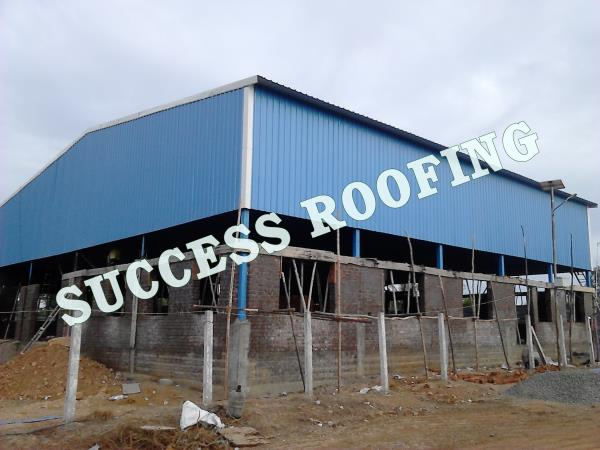 Industrial Factory Shed  'SUCCESS ROOFING'  WE ARE ALL KINDS OF ROOFING WORK PROVIDING. FACTORY SHED, INDUSTRIAL ROOFING SHED, HOUSE MADE ROOFING SHED, SPORTS CLUB SHED, MARRIAGE HALL SHED, TERRACE SHED, COW SHED, POULTRY, BADMINTON COURT S - by SUCCESS ROOFING, padappai