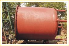 Storage Vessels  • As per ASME codes. The storage vessels are made in capacity ranging from 5000 lt. To 100, 000 lt. Both in horizontal as well as vertical construction.  • Agitated vessels: Vessels with jacket/limpet/internal coil. Vessels with different types of stirrers: Anchor, propeller, turbine etc.  • Multi shaft specialized dispersion vessels.  Systems Engineers located at Vadodara, Gujarat.  We also provide Storage Vessels at Vapi, Gujarat.  We also provide Storage Vessels at Ahmedabad, Gujarat.  We also provide Storage Vessels at Surat, Gujarat.
