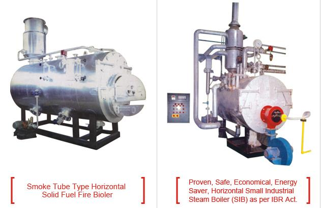 Small Industrial Boiler  Small Industrial Boiler Design, Manufacturing & Inspection is as per Indian Boiler Regulation Act. Chapter XIV & to provide with all papers like Boiler Certificate (Form XVII). No require IBR Boiler Operators. Only X pass or Equivalent can operate this Boiler. Normal Yearly Inspection Fee. SIB Boiler design is smoke tube horizontal type, so no more maintenance required compare to Coil type Boiler. Very easy for cleaning from Water Steam side & also from Smoke tubes side. More Dryness fraction of steam against coil type boiler. Giving constant steam pressure & In coil type Boiler may be chances for uneven steam pressure. In case of coil type boiler negligence in water treatment will check the coil and there will be no Steam generation. This boiler will generate the Steam & no checking problems. However, coil type boiler is not advisable. Enthalpy value is more than same capacity of coil type boiler. If require, you can run this boiler in 2\3rd capacity load at same Efficiency & In coil type boiler, this is not possible. If require in future, earning resale value is good compare to Coil type boiler because this is certified & registered Boiler.  Energy Process Equipment located at Por, Gujarat.   We also provide Small Industrial Boiler at Vadodara, Gujarat.   We also provide Small Industrial Boiler at Ahmedabad, Gujarat.   We also provide Small Industrial Boiler at Surat, Gujarat.   We also provide Small Industrial Boiler at Rajkot, Gujarat.