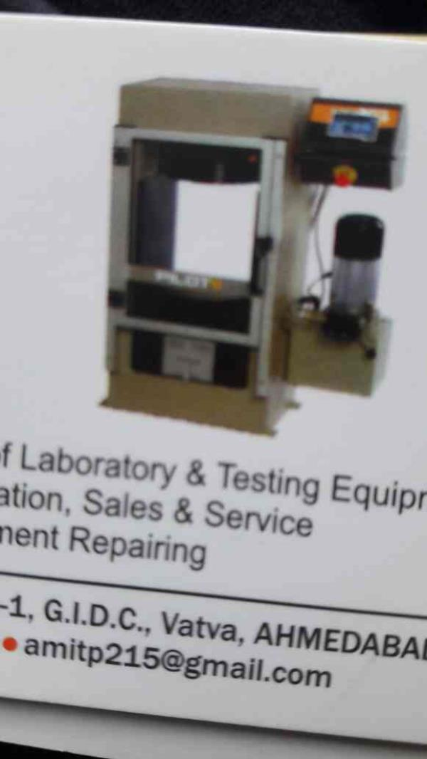 We are the leading manufacturers f Laboratory and Testing Equipments in Ahmedabad  All types of Calibration , Sales and Service...