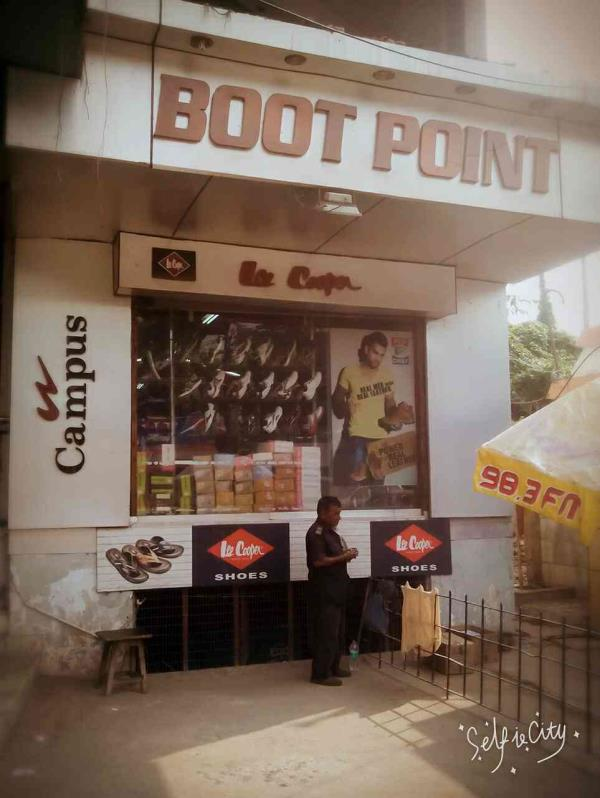 Boot point