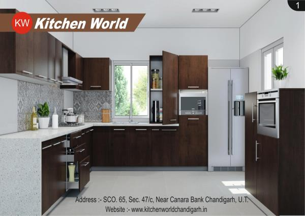 We are particular of luxury living every time of your home is a reflection of your living standards. So, why should your Modular kitchen remain hidden…! KITCHEN WORLD CHANDIGARH brings you a range of best modular kitchens that are designed for your home. Modular Kitchens make you feel good. Modular kitchen Chandigarh with high-life products and international standards, the kitchen world Chandigarh is the best place you can see latest design of Modular kitchen that's increase your life style. Modular kitchen Chandigarh Modular kitchen Mohali  Modular kitchen Panchkula  Modular kitchen UNA Modular kitchen Kala amb Modular Kitchen Ambala Modular kitchen Sunder nagar