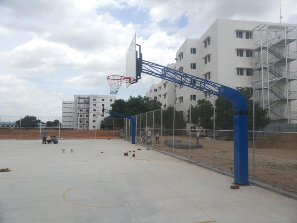 Quality Basketball Post Manufacturers In Tirupur www.parkequipment.co vedasports@yahoo.com 0422-2300781, 2300782    Best Quality Children Park Play Ground Equipments, Basketball Posts, Shuttle Posts Manufacturers In Coimbatore   - by Veda Sports & Park equipments, Coimbatore