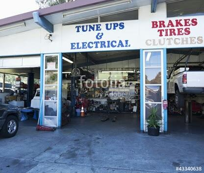 Not only Tinkering, painting, Engine work, battery charger, All car related works are done by here