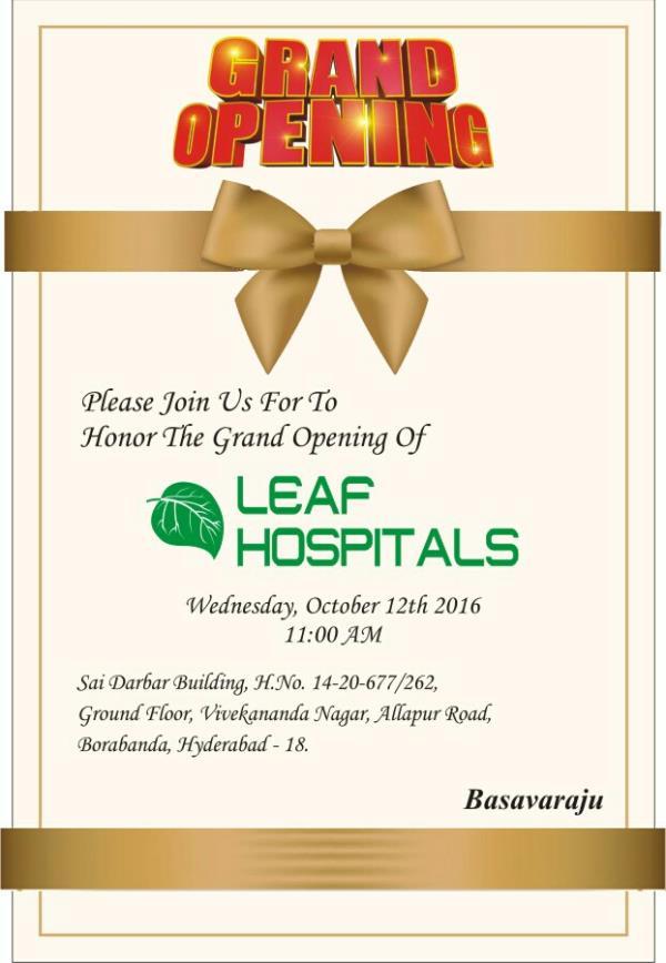 leaf hospitals