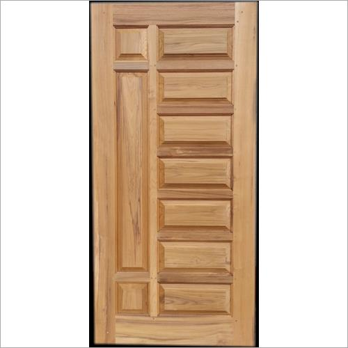 We have emerged as one of the leading firms of allied industry engaged in offering a wide array of Solid Teak Wood Door. The provided door is ideal to be fitted in houses, offices, shops etc.