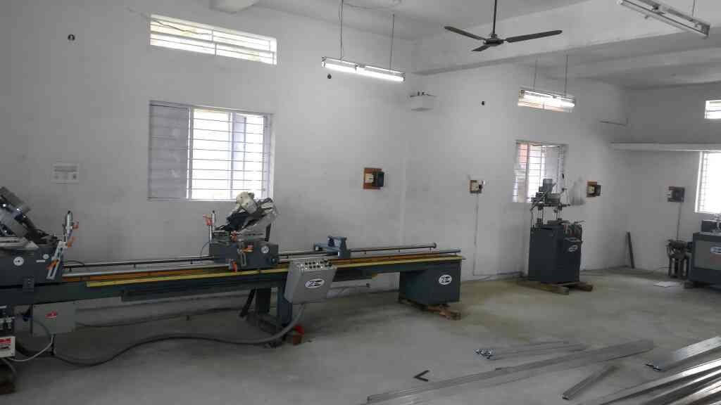 automatic upvc cutting machine in Banglore upvc profile cutting machine supplier in Banglore  aluminium copy router manufacturer in India upvc lock hole machine manufacturer  upvc Window making machine in Banglore  - by Zenith Engineering Corporation, Vadodara