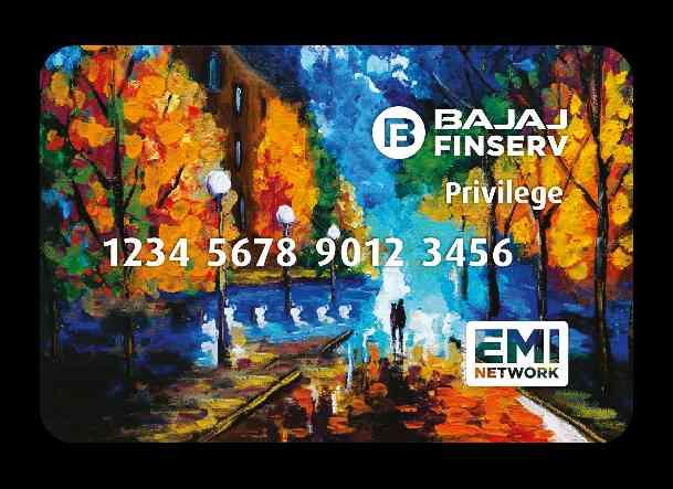 This is the Bajaj Finserv EMI card. This is the most powerful card in your pocket. It lets you purchase any product very quickly.